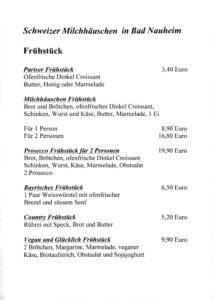 Schweizer Milchhäuschen in Bad Nauheim